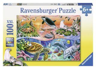 Ravensburger 100 pcs Puzzle - Beautiful Ocean