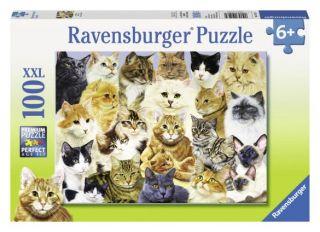 Ravensburger 100 pcs Puzzle - Cat Pride