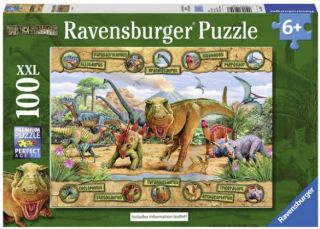 Ravensburger 100 pcs Puzzle - Dinosaurs