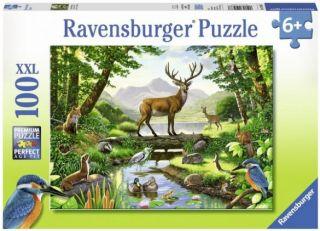 Ravensburger 100 pcs Puzzle - Woodland Harmony