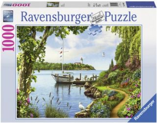 Ravensburger 1000 pcs Puzzle - Boat Days
