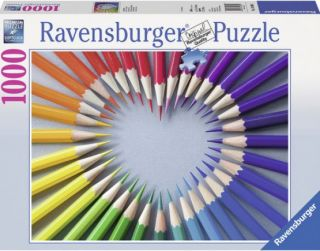 Ravensburger 1000 pcs Puzzle - Color My Heart