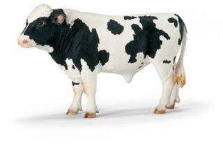 Schleich #13632 - Holstein Bull