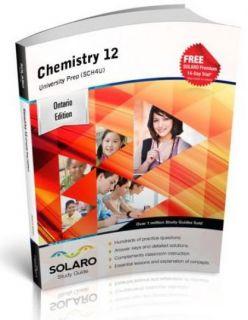 SOLARO Study Guide Chemistry 12 University Preparation (SCH4U)