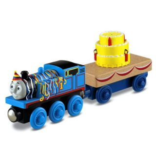 Thomas & Friends Wooden Railway - Happy Birthday Thomas & Musical Caboose Y4501
