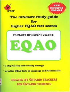 EQAO Gr 3 / Language & Math By PREP