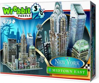 Wrebbit 3D Puzzle - New York Collection: Midtown East