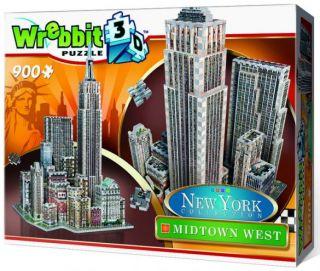 Wrebbit 3D Puzzle - New York Collection: Midtown West