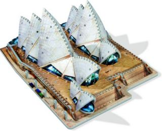 Wrebbit 3D Puzzle - Sydney Opera House