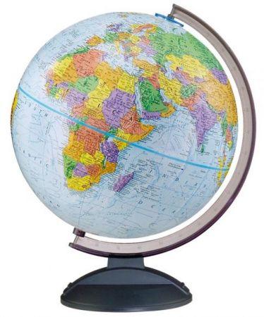 "12"" World Globe ""Traveler """