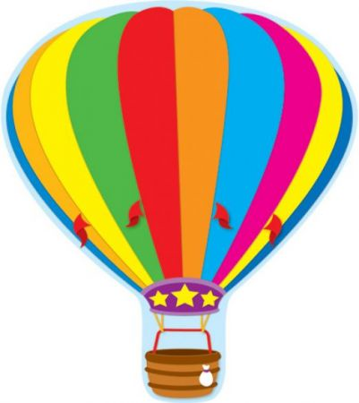 2-Sided Decoration - Hot Air Balloon #188018