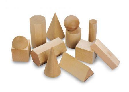 3D Geometric Solids 12pc Set