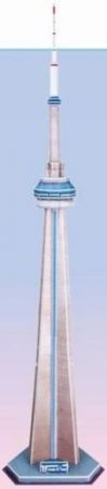 3D Puzzle - CN Tower