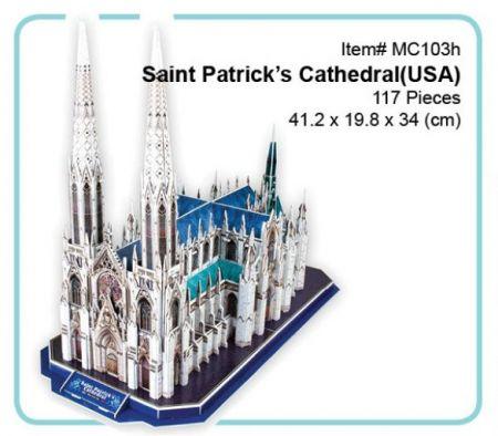 3D Puzzle - Saint Patrick's Cathedral