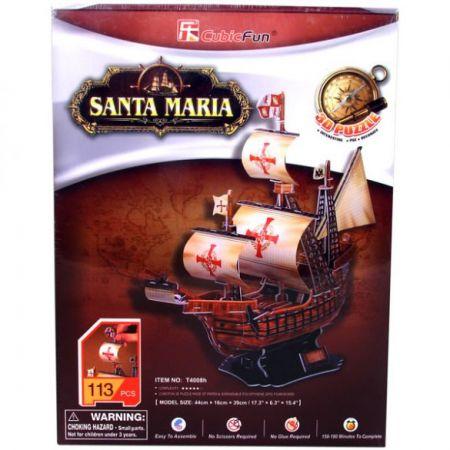 3D Puzzle - Santa Maria