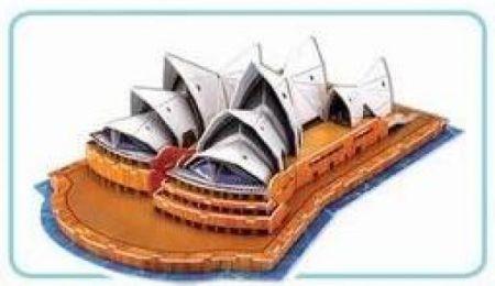 3D Puzzle - Sydney Opera House