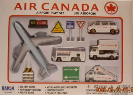 Air Canada Airport Playset - Die-Cast