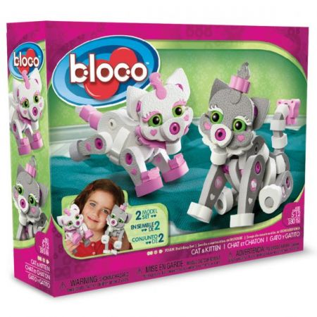 Bloco - Cat & Kitten