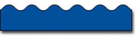 Borders_Scalloped - Blue #CD1211