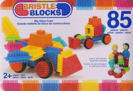 Bristle Blocks - 85 Pieces Set