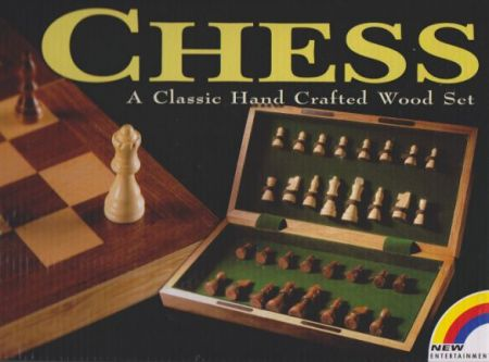 Chess - A Classic Hand Crafted Wood Set