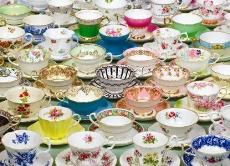 Cobble Hill 1000 pcs Puzzle - Teacups