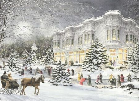 Cobble Hill 1000 pcs Puzzle - Winter Garden