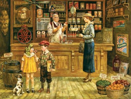 Cobble Hill 500 pcs Puzzle - The Grocery Store