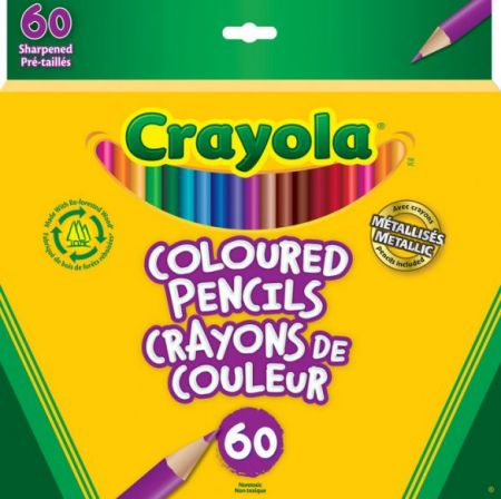 Crayola Colored Pencils 60 Colors