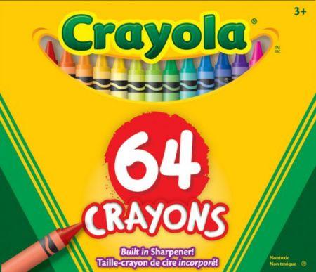 Crayola Crayons 64 Colors