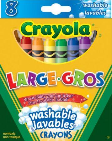 Crayola Crayons Large 8 Colors