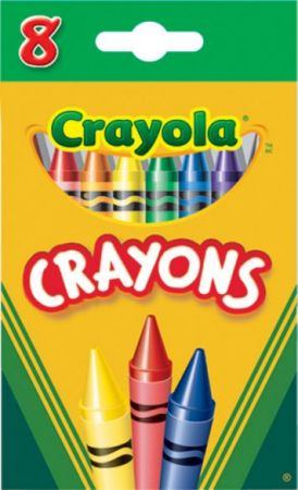 Crayola Crayons Regular 8 Colors