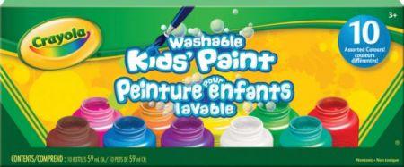 Crayola Washable Kids' Paint 10 Colors