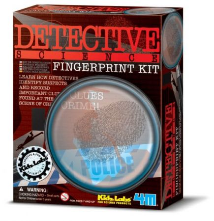 Detective Science - Finger Print Kit