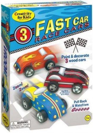 Fast Car - 3 Race Cars