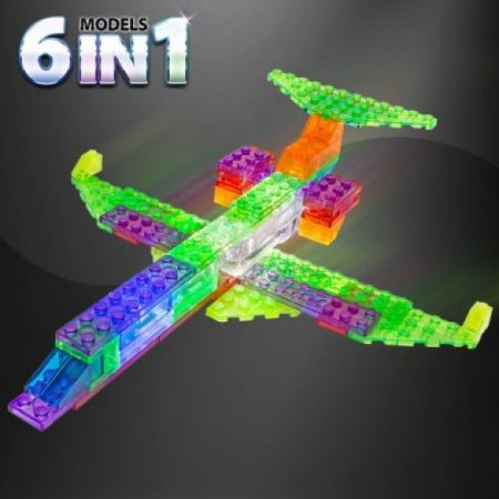 Laser Pegs Executive Jet - 6 in 1 Models Kit