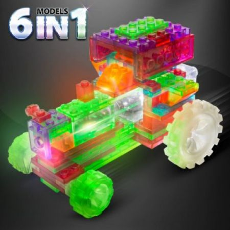 Laser Pegs Tractor - 6 in 1 Models Kit