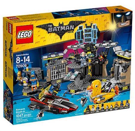 LEGO #70909 - Batman Movie : Batcave Break-in