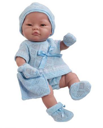"""Los Bebitos 17.5"""" Paola Reina European Baby Boy"""