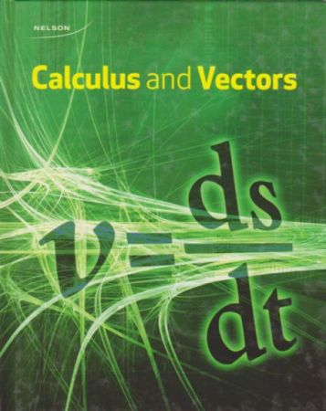 Nelson Calculus and Vectors/Grade 12