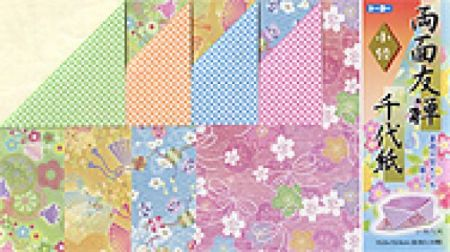 Origami Paper - 15 cm Double-sided Chiyo Candy Dish