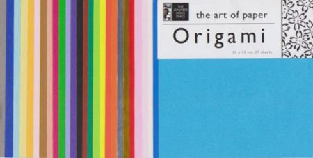 Origami Paper - 15 cm Mixed Solid Colours 27 Sheets