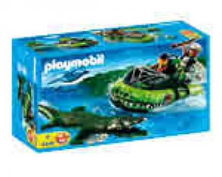 Playmobil #4446 - Alligator Hunters Hovercraft