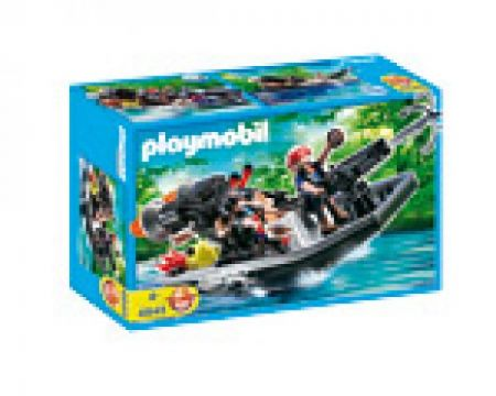 Playmobil 4845 Treasure Robber S Boat With Cannon 4008789048455 My Gifted Child