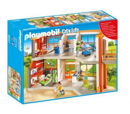 Playmobil #6657 - Furnished Children's Hospital