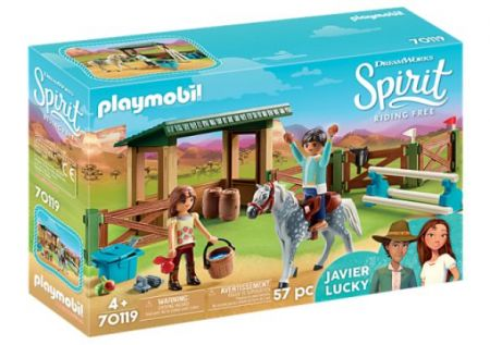 Playmobil #70119 - Riding Arena with Lucky & Javier