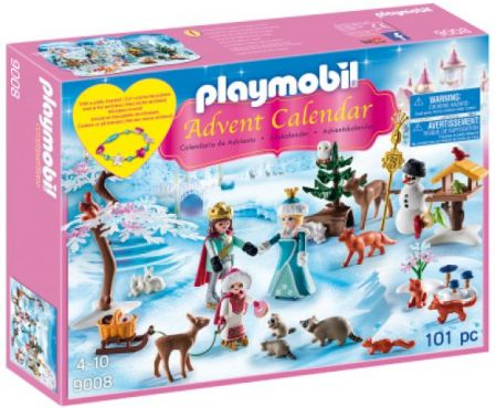Playmobil #9008 Advent Calendar : Royal Ice Skating Trip