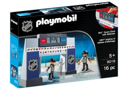 Playmobil #9016 - NHL Score Clock with 2 Referees