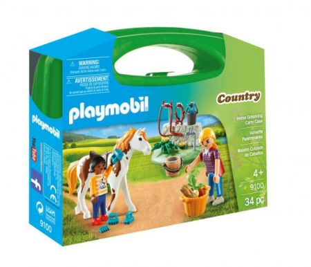 Playmobil #9100 - Horse Grooming Carry Case