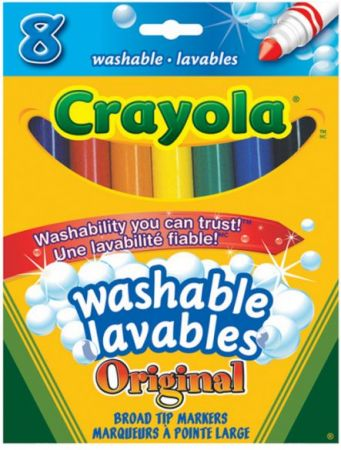 Crayola Markers Original Broad tip 8 Colors